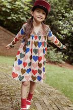 Pink Chicken Courtney Dress with Hearts