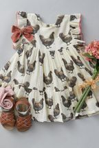 Pink Chicken Hen Dress for Girls Kit (5 & 10)