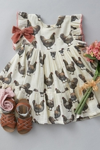 Pink Chicken Hen Dress for Girls Kit SOLD OUT