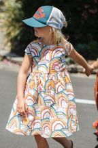 Pink Chicken Winnie Rainbow Dress (Size 10)