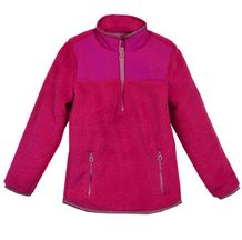 Pink is My Favorite Color Pull Over Fleece Jacket