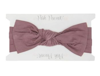 Posh Peanut Dark Mauve Swaddle Headband