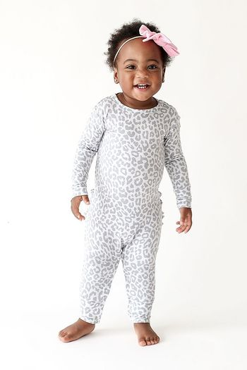 Posh Peanut Minka Long Sleeve Romper (Sizes 0 to 9Mos)