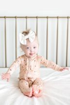 Posh Peanut Star Footie Zippered One Piece (NB,0-3Mos,3-6Mos)