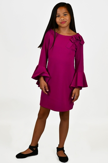 Biscotti Pretty In Pink Party Dress  (4,6X,14)