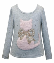 Purrfect In Pink Top (Size 6X)