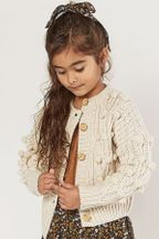 Rylee and Cru Bobble Cardigan (Size 8-9)