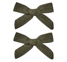 Rylee and Cru Bow with Clip Set Forest