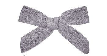 Rylee and Cru Bow with Clip Set Periwinkle