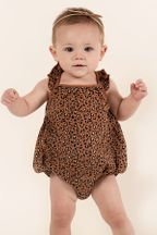 Rylee and Cru Cheetah Clementine Onesie (Sizes 3Mos to 2/3)