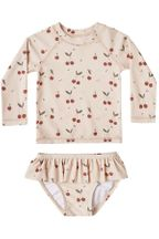 Rylee and Cru Cherries Rashguard Set (3-6Mos,18-24Mos,4-5,6-7)
