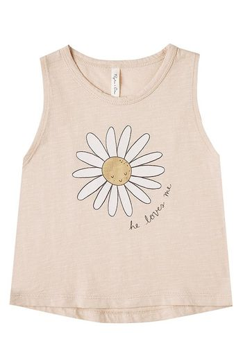 Rylee and Cru Daisy Tank Shell (Sizes 3Mos  to 14)