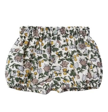 Rylee and Cru Enchanted Garden Button Short (3-6Mos & 2/3)