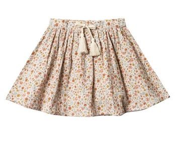 Rylee and Cru Flower Field Mini Skirt (Sizes 6/7 & 8/9)