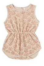 Rylee and Cru Flower Outline Playsuit (Sizes 3Mos to 3)