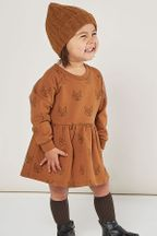 Rylee and Cru Fox Raglan Dress (8-9 & 10-12)