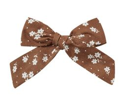Rylee and Cru Girl Bow in Cinnamon