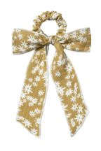 Rylee and Cru Hair Scarf Tie Scrunchie Daisy