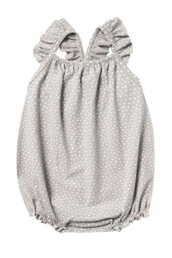 Rylee and Cru Micro Dot Clementine Onesie (Sizes 0Mos to 2/3)
