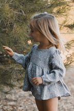 Rylee and Cru Moondust Piper Blouse (Size  2-3)