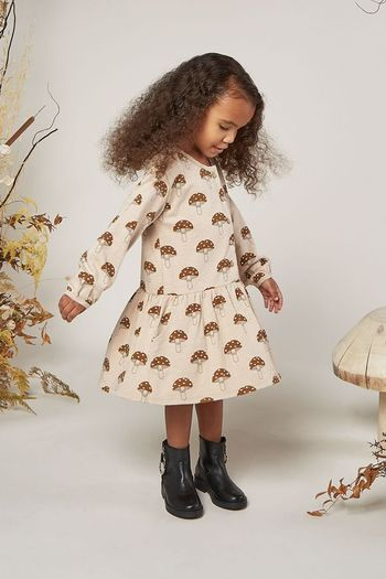 Rylee and Cru Mushroom Button Up Dress (Sizes 2 to 14)