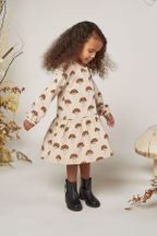 Rylee and Cru Mushroom Button Up Dress (10-12 & 12-14)
