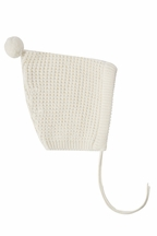 Rylee and Cru Pixie Hat in Ivory (Size 6-12Mos)