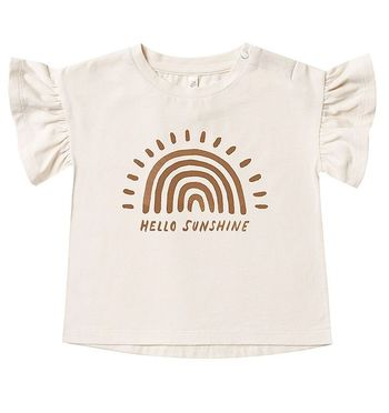 Rylee and Cru Rainbow Flutter Tee (Sizes 3Mos to 8/9)