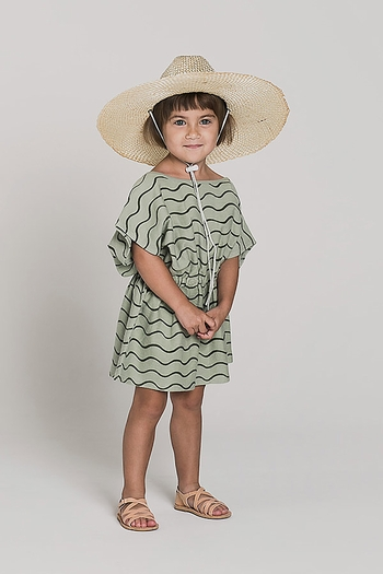 Rylee and Cru Rolling Waves Dress Girls