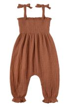 Rylee and Cru Sawyer Jumpsuit Amber (Sizes 3Mos to 3)