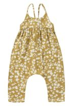 Rylee and Cru Scattered Daisy Gigi Jumpsuit (Sizes 3Mos to 2/3)