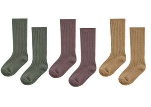 Rylee and Cru Sock Set Wine, Goldenrod, Forest (0-6Mos & 12-24Mos)