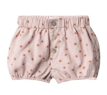Rylee and Cru Sunburst Button Short (Size 3-6Mos)