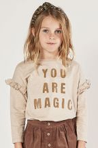 Rylee and Cru You Are Magic Ruffle Tee (Sizes 3Mos to 14)