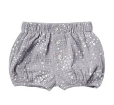 Rylee and Cry Periwinkle Moondust Button Short