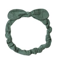 Rylee & Cru Baby Bow Headband in Spruce