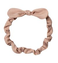 Rylee & Cru Baby Bow Headband in Truffle