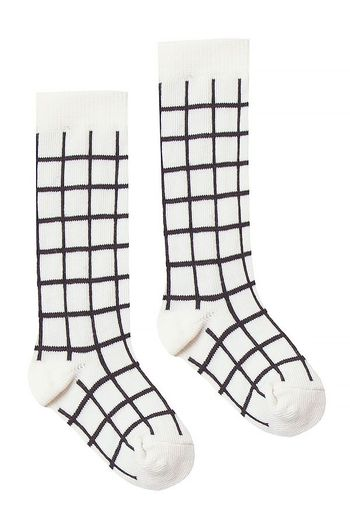 Rylee & Cru Black Check Knee Socks  (Size 0 to 6/9)