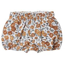 Rylee & Cru Bloom Button Short (Size 3Mos to 18Mos)