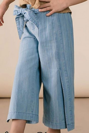 Rylee & Cru Denim Wide Leg Pant (Size 2/3 to 8/9)