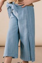 Rylee & Cru Denim Wide Leg Pant (Size 2/3 to 6/7)