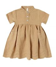 Rylee & Cru Esme Dress in Honey (Size 0-3Mos)