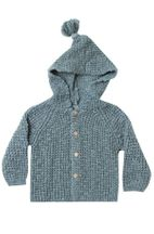 Rylee & Cru Tassle Cardigan Dusty Blue (0 to 24Mos)