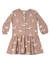 Rylee & Cru Winter Fox Dress (3-6Mos,18-24Mos,4/5,8/9)
