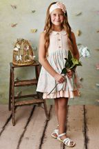 Serendipity Blush Petal Dress with Shortie (3T,4T,4,6,7,8)