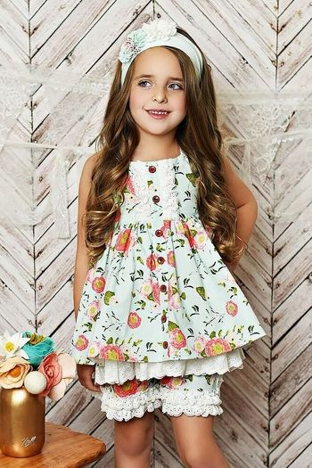 Serendipity Coral Vine Dress with Shorts