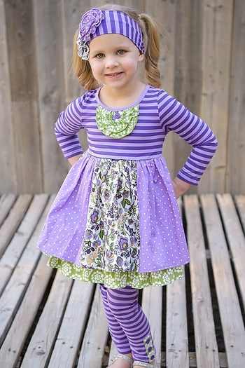 Serendipity Fall Splendor Bib Dress and Legging SOLD OUT