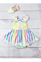 Serendipity Over the Rainbow Baby Bubble Dress (9Mos,12Mos,18Mos)