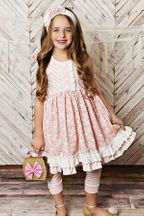 Serendipity Pink Unicorn Dress & Shorties