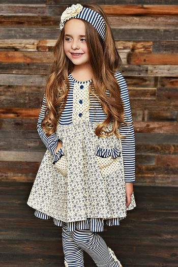 Serendipity Pocket Dress Into the Woods with Pant